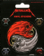 Pack of 5 Metallica vinyl peel off decals / stickers    (py)